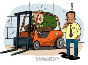 Forklift Operators Compartment Safety Features